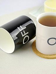 Color Magic changer le modèle hors 250ml tasse de tasse en céramique