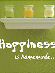 Happiness is Home Made Wall Sticker