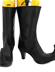 medusa schwarz cosplay Stiefel