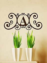 Capital Letter A Wall Sticker