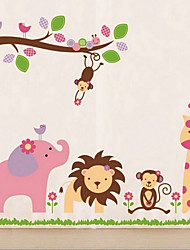 Amichevole Zoo Wall Sticker