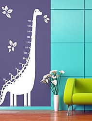 Dino Height Chart Wall Sticker