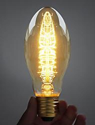 60W E27 Retro industria stile di punto lampadina a incandescenza