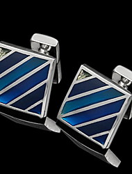 Gift Groomsman Square Cufflinks (More Colors)