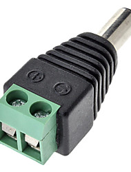 DC Male Connector Adapter Green