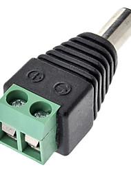 DC разъем адаптера зеленый