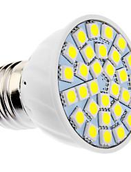daiwl regulable e27 6w 30xsmd5050 400-500lm 5500-6500K luz blanca natural llevó bulbo del punto (85-265v)