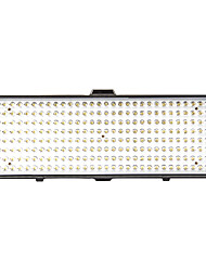 Nuovo Modello Large LED DV-256 kit luce video per la fotografia stuido