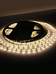 Waterproof 5M 18W 300x3528 SMD Warm White Light LED Strip Lamp (12V, IP44)