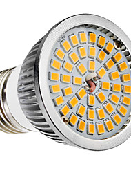 E27 6W 48x2835SMD 580-650LM 2700-3500K Warm White LED Light Bulb Spot (110-240V)