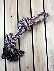 Dog Pet Toys Chew Toy Rope / Woven Purple Textile