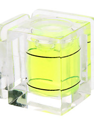Resina Hot Shoe doppia Axis Bubble Level Spirito per DSLR / SLR Cameras