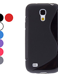S Shape Soft Case for Samsung Galaxy S4 mini I9190