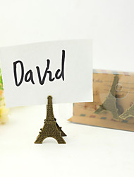 Place Cards and Holders Lovely Effel Tower Place Card Holder (Set of 3)