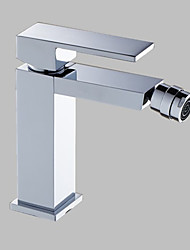 Chrome Finish Solid Brass Bidet Faucet