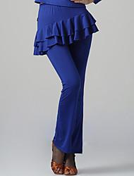 Dancewear Fashion Viscose Latin Dance Bottom for Ladies(More Colors)