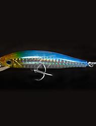 """1 pcs Harte Fischköder / Angelköder kleiner Fisch / Harte Fischköder Schwarz / Gelb / Blau 14 g/1/2 Unze,85 mm/3-5/16"""" Zoll,Fester"""