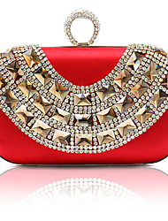 Elegant Silk with Crystal Wedding/Special Occasion Evening Handbag/Clutches(More Colors)