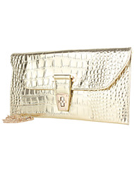 Beautiful Crocodile Leatherette Special Occasion Evening Handbag/Clutches(More Colors)