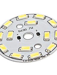 7W 14x5630SMD Natural White Light Aluminum Base LED Emitter (22-24V)