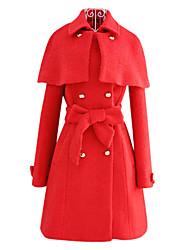 pinklady détachable manteau chalaza Cap manteau de laine