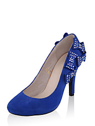 Specific Suede Stiletto Heel Pumps with Bowknot Party\Evening Shoes(More Colors)