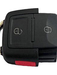3-Key Control Remoto llave del coche Shell para el Volkswagen Passat