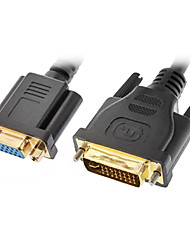 DVI 24 +5 мужчина к VGA Женский кабельного (0,3 M)