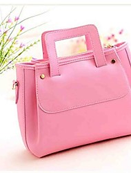 Beautiful Leatherette Casual/Shopping Top Handle Bag