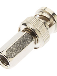 BNC Male Adapter with hexagonal Screw