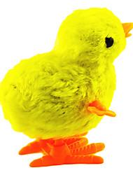 Stem Winding up Plastic Chicken Jumping(Random Color)