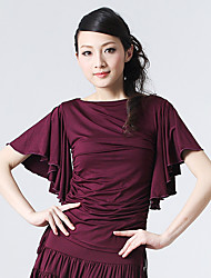 Dancewear Sexy Viscose Latin Dance Top for Ladies(More Colors)