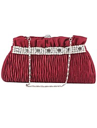 Elegant Silk with Rhinestones Wedding/Special Occasion Evening Handbag/Clutches(More Colors)