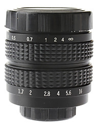 "35mm F1.7 CCTV Lens on Micro 2/3"" C (Black)"