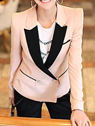 Women's Pink Blazer , Casual