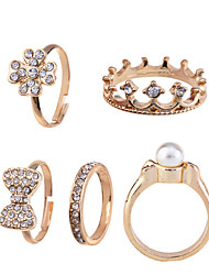 Ring Jewelry Alloy Midi Rings8½ Gold