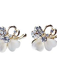 Diamond Bag Alloy Earring