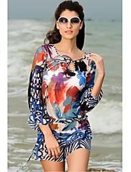 Dress Beach Gauzy Artistico (Anca :90-104cm Lunghezza: 105cm)