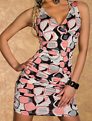Crossover V-neck Summer Dress