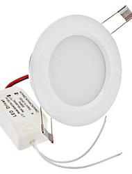 """2.5 """"4W 24x2835SMD 200-220LM 2700-3500K Blanc Chaud Ampoule LED de plafond (110-240V)"""