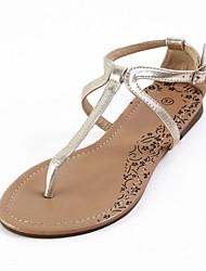 Spécifiques similicuir Sandales plates de talon avec boucle Party \ Casual Shoes (plus de couleurs)