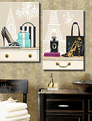 Art Em Canvas Still Life Set Moda de 2
