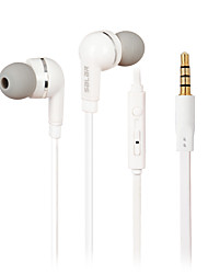 SALAR EM-513 In-Ear Earphone with Mic and Remote for iPhone iPod Galaxy S3 S4 HTC