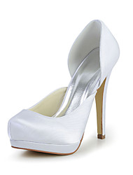 Great and Compact Satin Stiletto Heel Pumps Wedding/Special Occasion Shoes(More Colors)