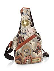 DANNY BEAR Cute Bears Print Bag