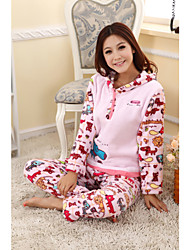 Animals Print Little Dog Warm Lounge Wear