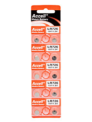 LR726 197/1.5V Alkaline Watch Battery (10pcs)