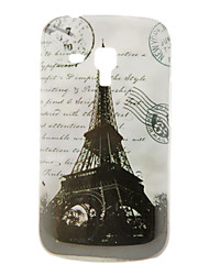 Vintage Eiffel Tower Pattern Hard Case for Samsung Galaxy Trend Duos S7562