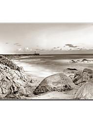 Stretched Canvas Art Landscape Stones