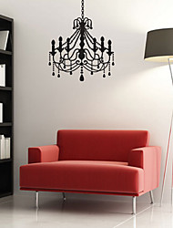 Sophistiqué Lustre Lampe Wall Sticker